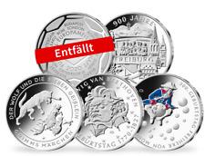 kompletter Satz 2020 - 20,-€ Münzen - 925`er Silber - AG - Münchhausen - Grimm
