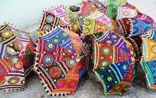 Boho-Mandala-Outdoor Indian Garden Parasol Sun Shade Party Small Cotton Umbrella