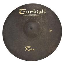 "TURKISH CYMBALS Becken 17"" Crash Rock - RawDark bekken cymbale cymbal 1244g"