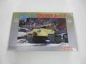 Dragon 7207 Sd.Kfz.171 PANTHER Ausf. F 1:72 Model Kit Armor Series Started