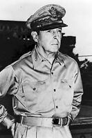 New 5x7 World War II Photo: Gen. Douglas MacArthur in Manila, Philippine Islands
