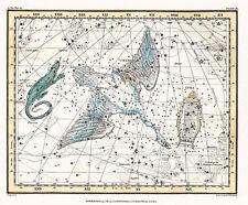 Astronomy Celestial Atlas Jamieson 1822 Plate-11 Art Paper or Canvas Print