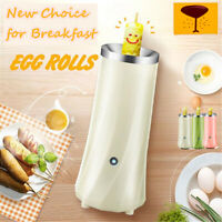 220V DIY Electric Automatic Egg Roll Machine Breakfast Quick Egg Cooker hot