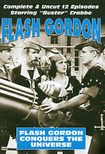 BUSTER CRABBE CHARLES MIDDLETON - FLASH GORDON CONQUERS THE UNIVERSE - DVD
