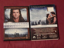 Braveheart (Dvd, 2007, Special Collector's Edition) + Soundtrack - (Cd) Lot