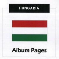 Hungary - CD-Rom Stamp Album 1871 - 2016 Album Pages Classic Stamps Illustrated