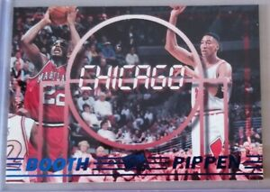 Scottie PIPPEN 1997 Press Pass Teammates #43 Keith Booth / Bulls / Nm-Mint
