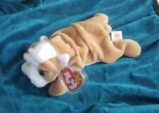 1996 Wrinkles THE DOG  Beanie Baby Ty Rare And Retired