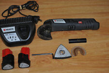 WÜRTH Master 12V Multi Tool + Batteries + Charger / Good Condition T#