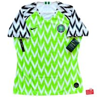 Authentic Nike Nigeria 2018/19 Home Jersey. BNWT, Womens Size L (14).
