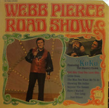 "Webb Pierce - Road Show  (Decca 75280) ('71) (sealed) (""Koko"" the Country Clown)"