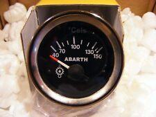 FIAT 500 F/L/R TEMPERATURA OLIO ABARTH STRUMENTO PER CRUSCOTTO DA 52 FONDO NERO