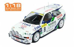 1:18 FORD ESCORT RS COSWORTH Thiry & Prevot Monte Carlo Rally 1995 IXO 18RMC056B