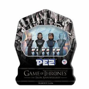 Game of Thrones The Iron Anniversary PEZ Gift Tin