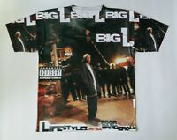 Big L Lyfestyles of the Poor and Dangerous T Sublimated shirt laney  HIP HOP
