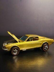 Vintage Hotwheels Original Custom Redline Mustang