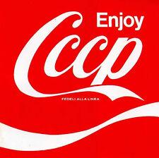 CCCP Fedeli Alla Linea - Enjoy CCCP ( 2 CD - Compilation - Remastered )