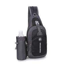 Unisex Shoulder Travel Bag Chest Sling Bag Mini Backpack Sports Bottle Bag in US