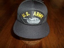U.S Military Army M-60 Tank Hat Official Army Ball Cap U.S.A. Made