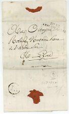 No. 12 ARM. D'ITALIE Brescia 1801 Soldatenbrief Lyon Armeebrief Napoleon