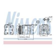 Fits Peugeot 206 1.4 16V Genuine OE Quality Nissens A/C Air Con Compressor