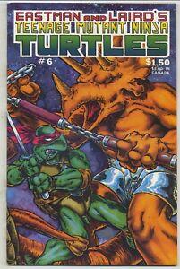 Teenage Mutant Ninja Turtles 6 First Printing High Grade