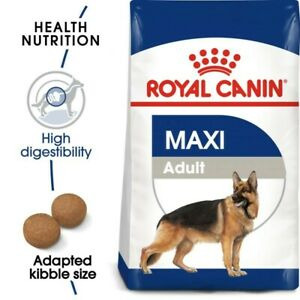 Royal Canin Maxi Adult Dry Dog Food  Treat 15kg
