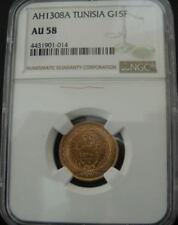 Monedas de oro AU 58