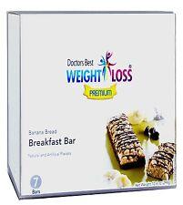Doctors Best Premium - Banana Bread High Protein Breakfast Bar