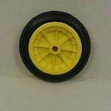 """Brouette roue roue solide jaune de remplacement, R-U, pas plus de ponction 12 """""""