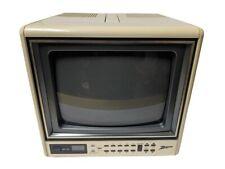 "Zenith 9"" Portable Color Tube CRT Television TV -Read Description-"