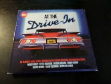 CD TRIPLE ALBUM - AT THE DRIVE IN - RITCHIE VALENS / BOBBY DARIN / EDDIE COCHRAN