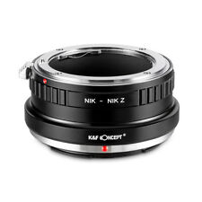 New K&F Concept adapter for Nikon F mount lens to Nikon Z6 Z7 camera