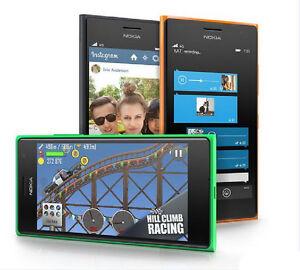 Original Nokia Lumia 730 N730 Unlocked Mobile Phone Dual Sim 3G 8GB 6.7MP 4.7 in