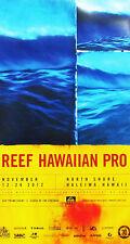 Mint 2012 Reef Hawaiian Pro Surfing Contest Hawaii Alex Weinstein Art Poster