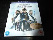 Fantastic Beasts: The Crimes of Grindelwald (4K Ultra HD) Blu-ray