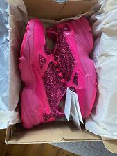 Adidas Falcon BAE X Kylie Jenner UK Size 6 Hot Pink Glitter Entrenadores Nuevo Y En Caja