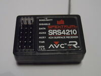New Spektrum SRS4210 AVC 4-Channel 2.4ghz Receiver Direct Replacement Spare Part