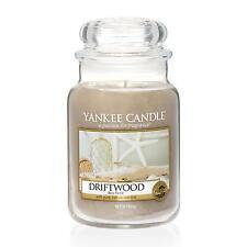 YANKEE CANDLE Große Kerze DRIFTWOOD 623 g Duftkerze
