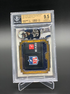 2013 Topps Museum Manti Te'o Laundry Tag Relic 1/1 BGS Graded 9.5 Gem One of One