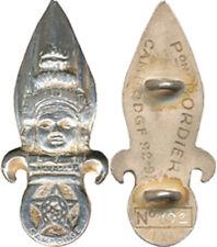 1° R.E.C, 3° Escadron, Cambodge, Peloton BORDIER, en argent, AIXIA