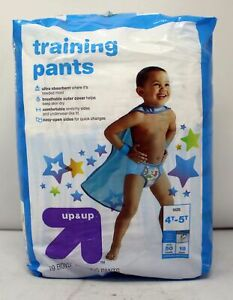 Up & Up Training Pants 4T-5T 50 Punds 19 Count