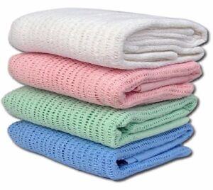 100% Cotton Cellular Blanket *** 50% OFF