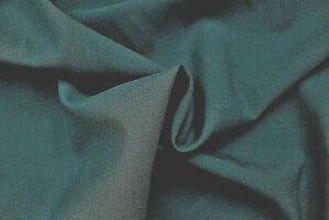 PURE WOOL PETROL BLUE COLOUR PLAIN WEAVE DELUXE FINE TAILORING MADE IN ITALY E97