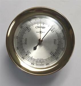 Howard Miller Ship's Barometer - Brass, W. Germany Movement