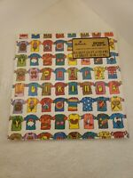 Vintage Hallmark Crazy Groovy Shirts Birthday Gift Wrapping Paper