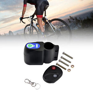 Wireless Alarm Lock Bicycle Bike Anti-Theft Security System With Remote Control