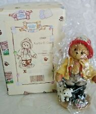 "Cherished Teddies ""Kurtis D Claw"" #Ct961 Nib Membears Only 1996"