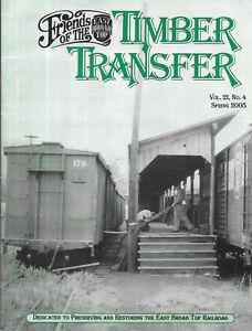 EBT Timber Transfer Spring 2005 Railroad Man Passenger Car Loading Freight Panic