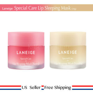 Laneige Lip Sleeping Mask 20g Berry / Vanilla / Grapefruit + FREE SAMPLE